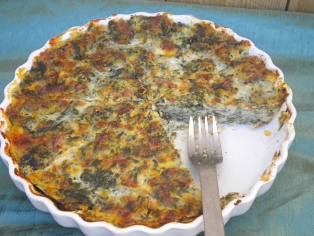 spinach cheese quiche
