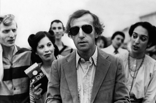 woody allen in aviators