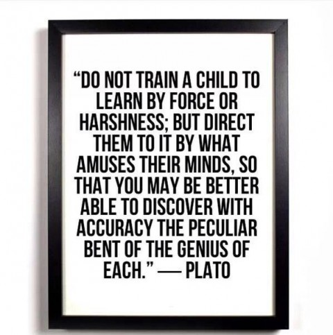 do not train a child
