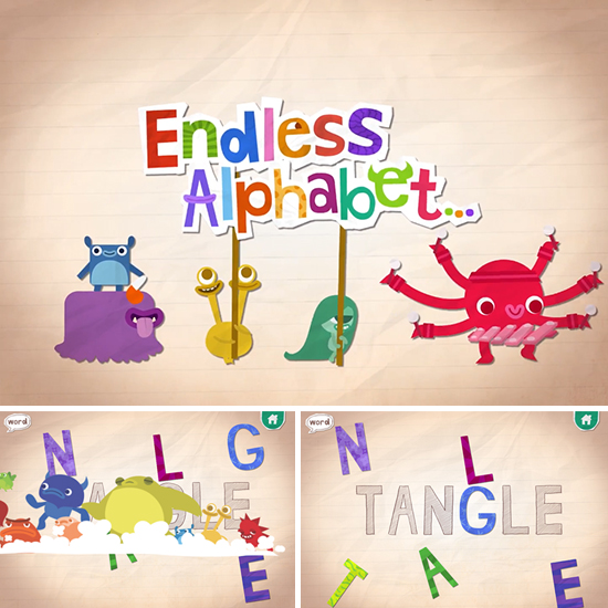 endless alphabet app
