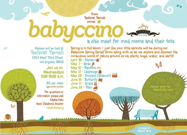 babyccino spring curriculum